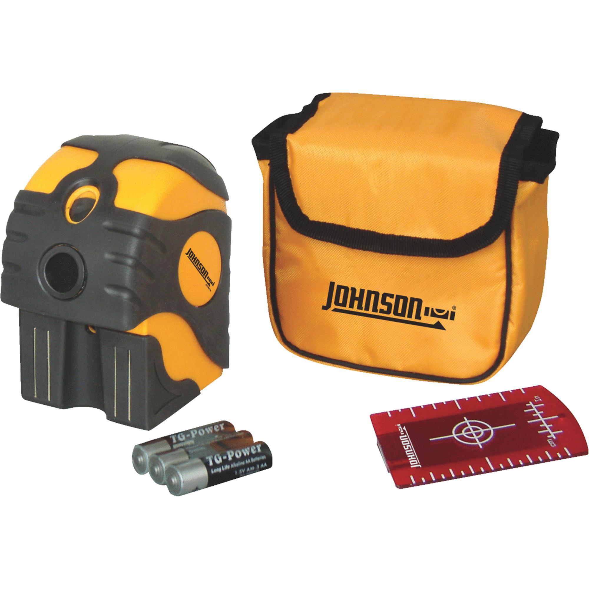 Johnson Level 2-Dot Laser Level by Johnson Level & Tool