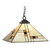Brooklyn Stained Glass Shade Pendant