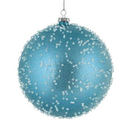 "Vickerman 535851 - 4"" Baby Blue Ice Ball Christmas Tree ..."