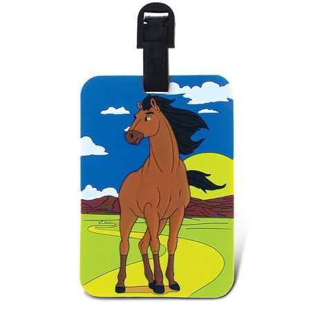 Puzzled, Inc. Luggage Tags Horse Luggage Tags Horse