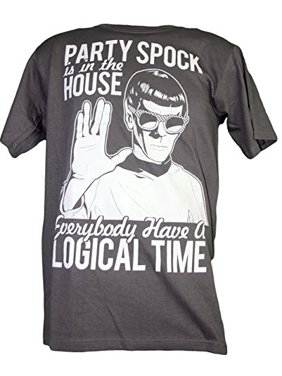 d23efb3239 Product Image Star Trek Party Spock in the House Classic Adult Tee Shirt  (X-Large)