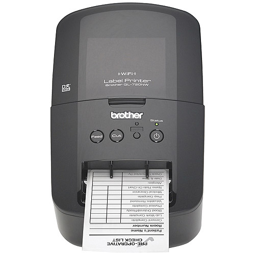 Brother QL-720NW High-Speed Label Printer with Built-in Ethernet and Wireless Networking