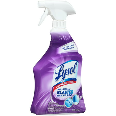 Lysol 4 In 1 Mildew Remover Bathroom Cleaner With Bleach 32oz