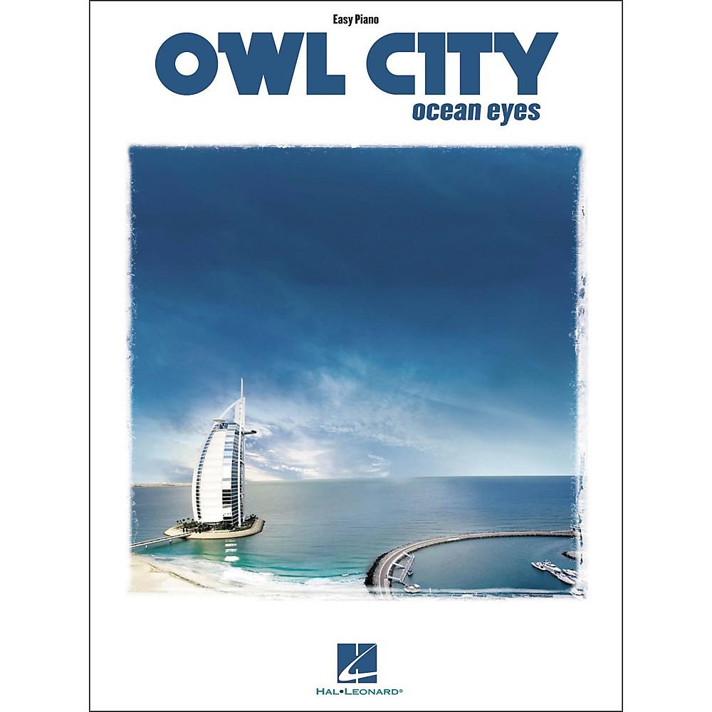 Hal Leonard Owl City - Ocean Eyes For Easy Piano Songbook