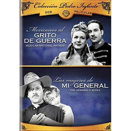 Coleccion Pedro Infante: Mexicanos Al Grito De Guerra / Las Mujeres De Mi General (2-Disc) (Full Frame)