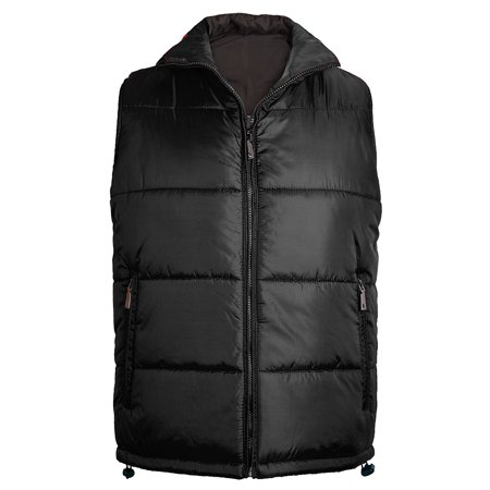 Maximos Men's Reversible Water Resistant Zip Up Puffer Vest ()