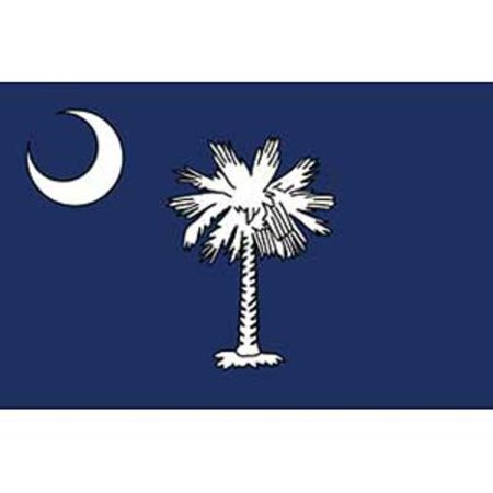 South Carolina Flag On A Stick 12