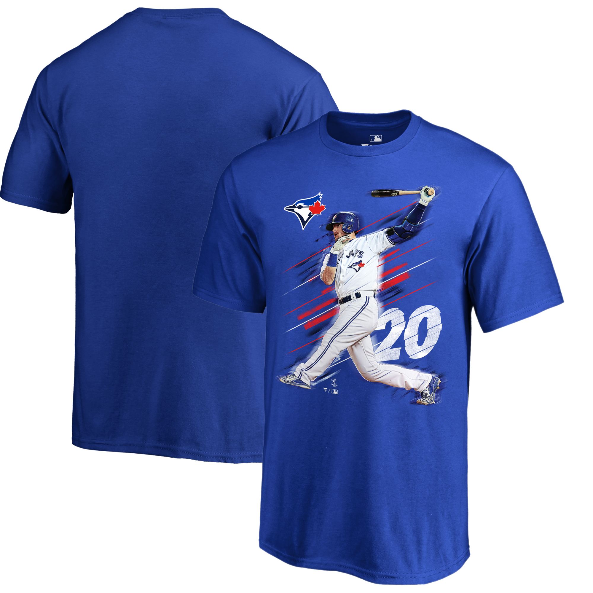 Josh Donaldson Toronto Blue Jays Fanatics Branded Youth Fade Away T-Shirt - Royal
