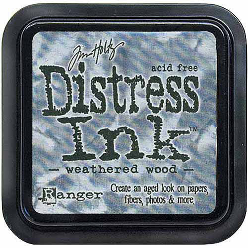 Ranger Tim Holtz Distress Ink Pad, Weathered Wood Multi-Colored