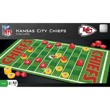 Nfl Kansas City Chiefs Team Checkers