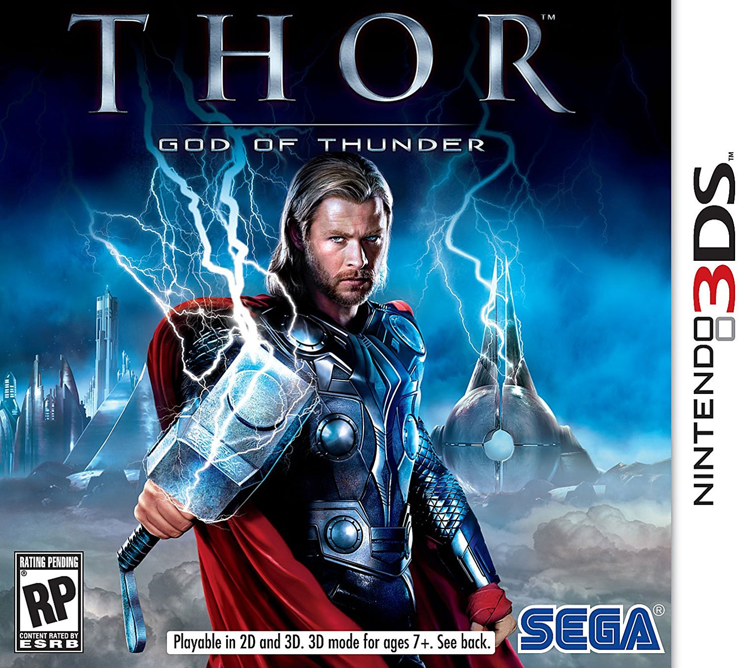 Thor: God of Thunder Nintendo 3DS, Save the Norse worlds from 12-ton, 25-foot-tall frost giants and trolls in... by