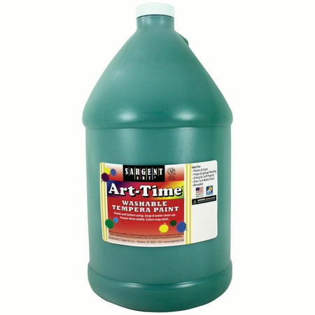 Art-Time® Washable Tempera Paint, Green - Gallon](Green Bodypaint)