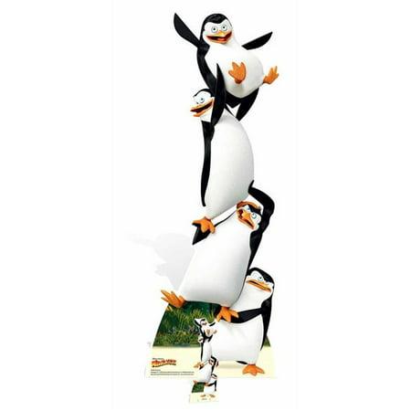 Star Cutouts SC969 Penguins Life Size Cardboard - Life Size Cutouts