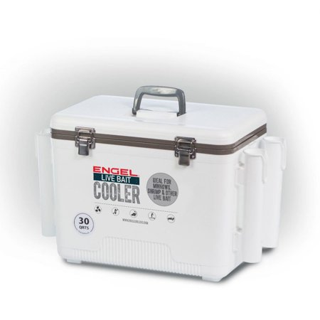 Engel 30 Durable Quart Live Bait Dry Box and Cooler with Rod Holders, - Halloween Dry Ice Uk
