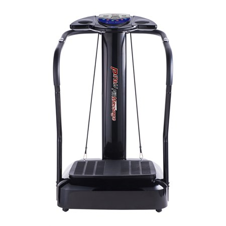 Upgrated Fitness Slim Full Body Crazy Fit Massage Vibration Machine Platform With Arm Straps