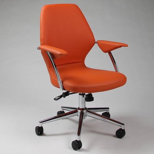 Pastel Furniture Ibanez Office Chair in Orange
