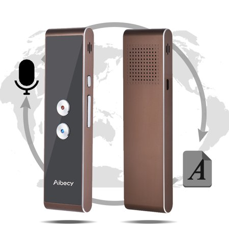 Aibecy Real-time Multi Language Translator Speech/ Text/ Photo/ Session Translation Device with APP for Business Travel Shopping English Chinese French Spanish Japanese (Best Spanish Translator App Iphone Offline)