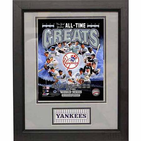 Mlb 11x14 Deluxe Photo Frame New York Yankees Greats Walmart