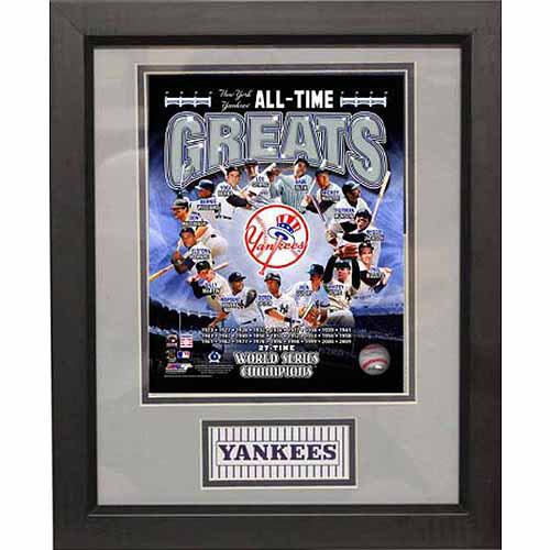 MLB 11x14 Deluxe Photo Frame, New York Yankees Greats