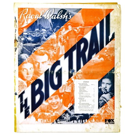 The Big Trail John Wayne Marguerite Churchill El Brendel Premiere Program 1930 Tm & Copyright 20Th Century Fox Film CorpCourtesy Everett Collection Movie Poster Masterprint