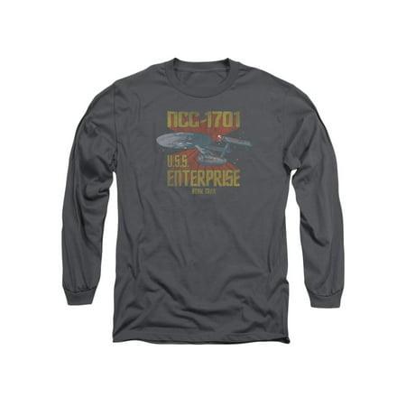 Star Trek Next Generation TV Series Ncc1701 Adult Long Sleeve T-Shirt