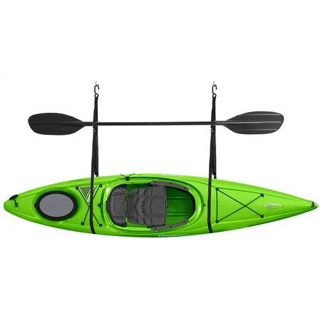 Kayak Storage Straps Garage Canoe Hoists in (Canoe Straps)