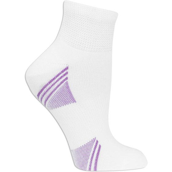 c76c81a424a3b Fruit of the Loom - Women's Arch Support Ankle Socks, 6 Pack ...