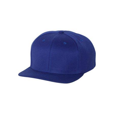 Flexfit - 110F Flexfit Headwear One Ten Flat Bill Snapback Cap ... 57df06812998