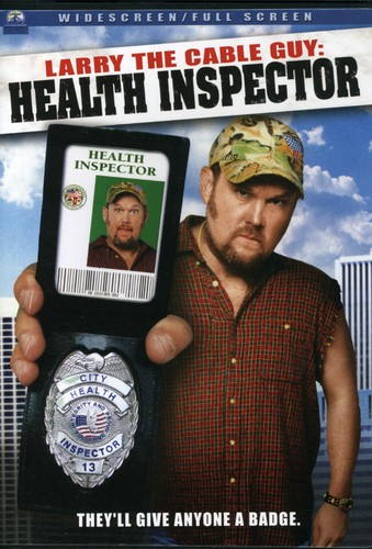 Larry the Cable Guy: Health Inspector by PARAMOUNT HOME VIDEO