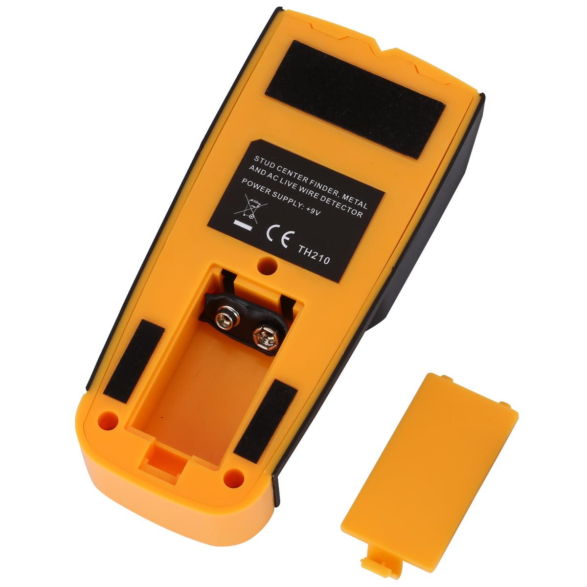 Floureon 3 In 1 Lcd Digital Stud Scanner Ac Live Wire Finder Wood Wiring Through Studs Metal Wall Detector