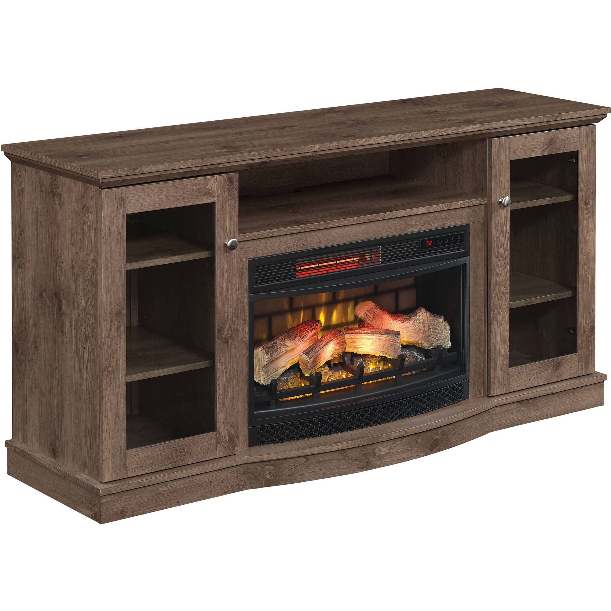 costco inch mount tv menards wall chimney and ideas ed decorating free fireplace stanton electric