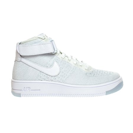 more photos 5dfbe b8e44 Nike AF1 Flyknit Women's Shoe White/Pure Platinum 818018-100