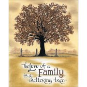 LPG Greetings Life Lines The Love of Family by Lori Voskuil-Dutter Graphic Art Plaque