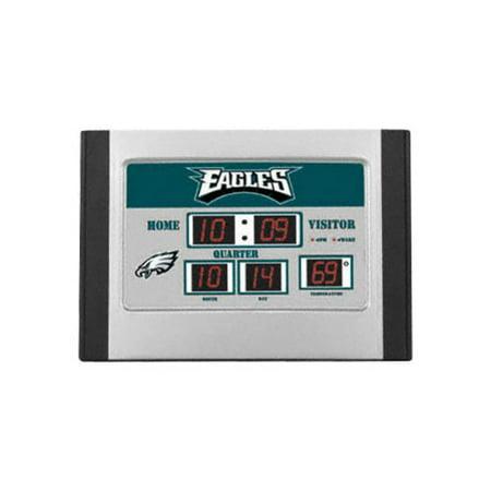 Philadelphia Eagles Alarm Clock Scoreboard - Walmart.com
