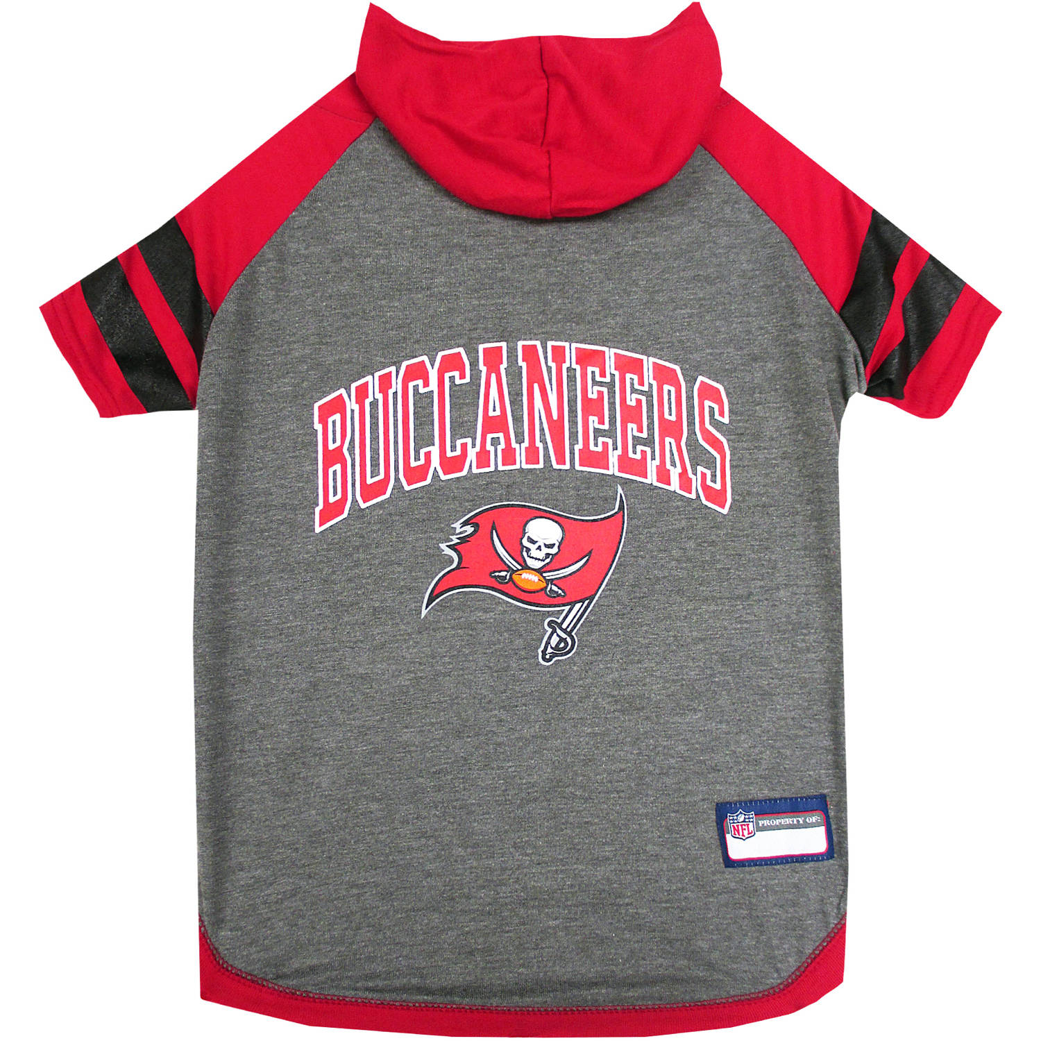 Pets First NFL Tampa Bay Buccaneers Pet Hoodie Tee Shirt