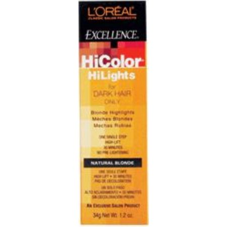 L'oreal Excellence Hicolor, Natural Blonde Highlights, 1.2