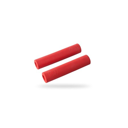 Slide On Race Grip Red, 32mm x 130mm, Material: silicone By PRO