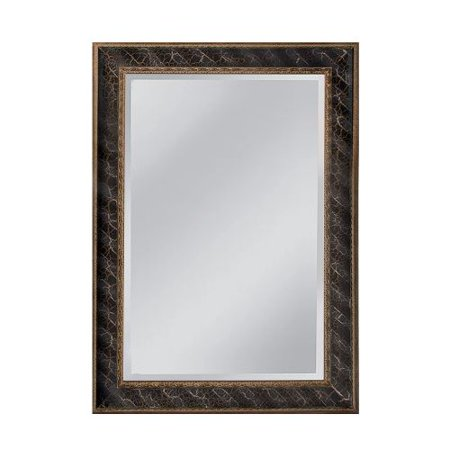 Mirror Master Clearfield Mirror In Antique Silver Gold Black  Mw4024c 0052