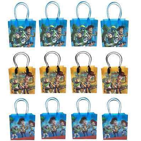 LWS LA Wholesale Store  12 bags TOY STORY Party Favor Goody gift Candy bags birthday mickey minnie Mickey Mouse Goody Bags