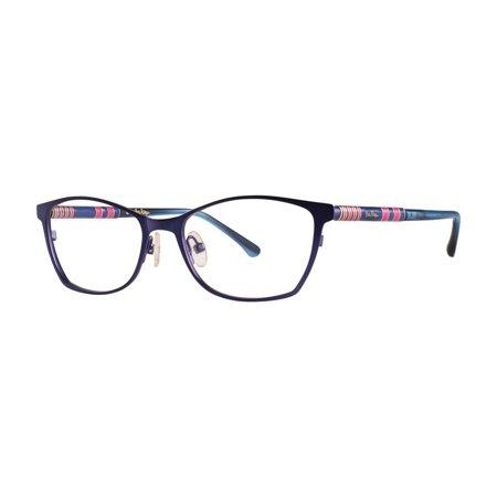(Lilly Pulitzer WINDWARD Eyeglasses 50 Navy)