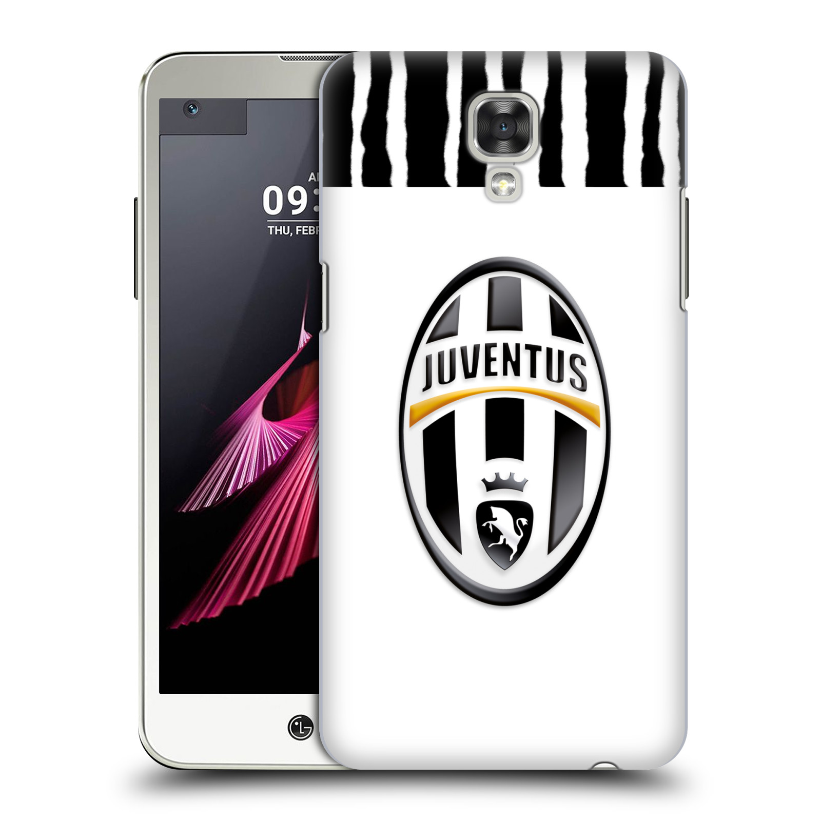 OFFICIAL JUVENTUS FOOTBALL CLUB MATCH 2016/17 KIT HARD BACK CASE FOR LG PHONES 1