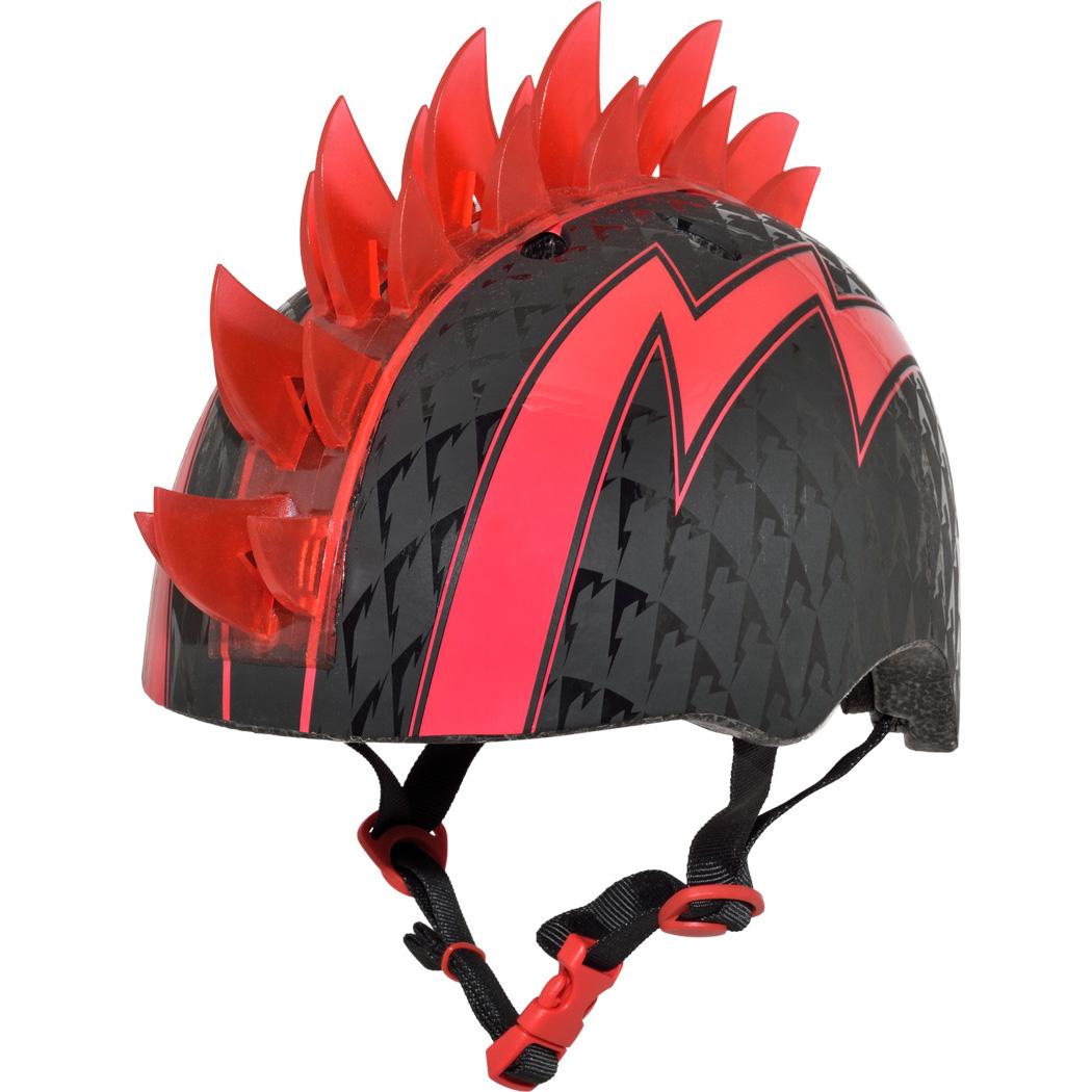 Raskullz Bolt Red Mohawk Helmet w/LED Lights, Child 5+ (50-54cm)