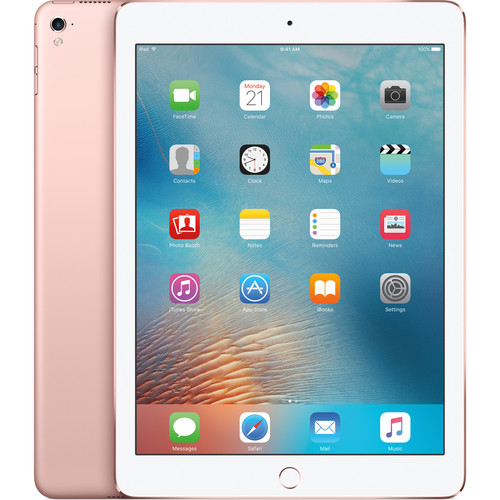 "Refurbished Apple iPad Pro (9.7"") 32GB Rose Gold Wi-Fi MM172LL/A"