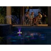 Aquajet Floating Pool Light Show and Fountain