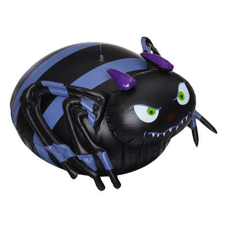 Halloween Spider PVC Inflatable Animated Ghost Halloween Party Supplies 65x50x32cm  - image 8 of 9