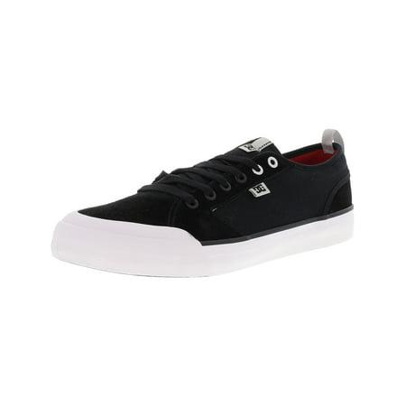 Dc Men's Evan Smith S Black Ankle-High Leather Skateboarding Shoe - 9M ()