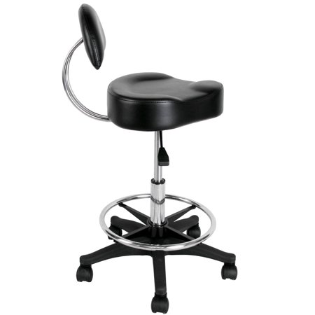 Dental Stool (Salon Spa Massage Office Doctor Dental Tattoo Stool with Back Rest ST-34)