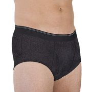 1-Pack Wearever Men's Incontinence Super Briefs - Washable Reusable Bladder Control Underwear - Single Brief
