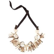 Faire Collection Rhumba Necklace, Cream