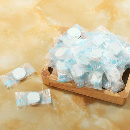 50pcs Magic Compressed Cotton Disposable Towel Tablet Cloth Wipes Paper Tissue Mask